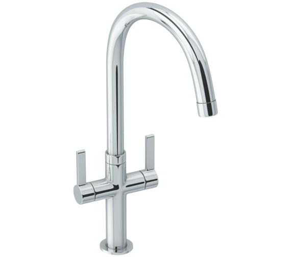 Abode Linear Style Chrome Monobloc Kitchen Mixer Tap