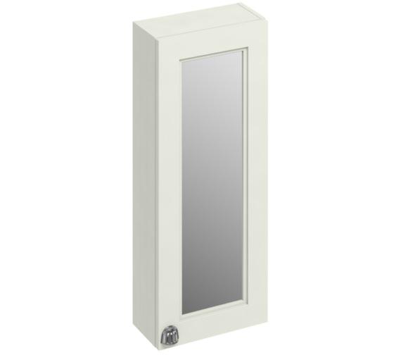 Burlington 300mm Sand Single Door Mirror Cabinet