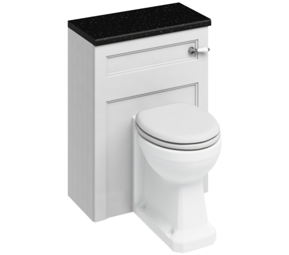Burlington 600mm Back To Wall WC Unit Matt White