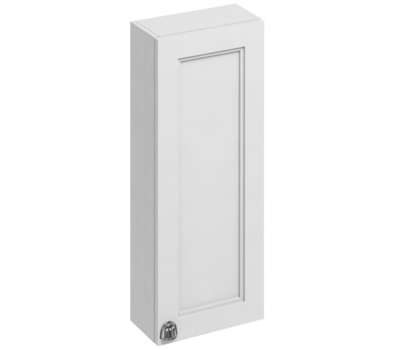 Burlington 300mm Single Door Cabinet Matt White