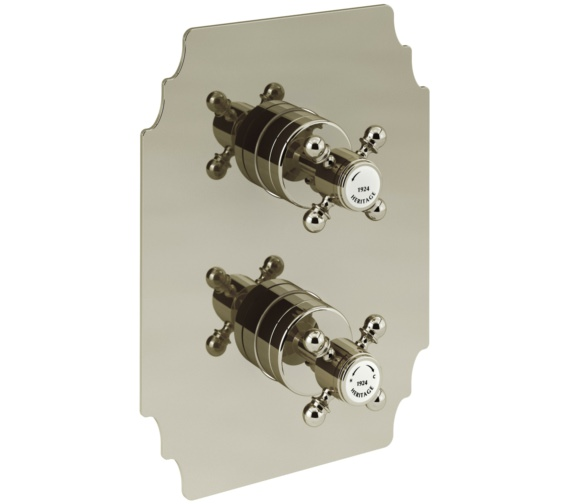 Heritage Hartlebury Recessed Thermostatic Gold Shower Valve With 1 Outlet