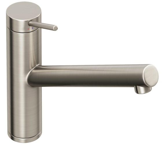 Abode Pluro Brushed Nickel Single lever Kitchen Mixer Tap