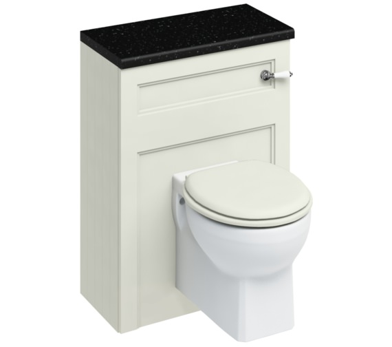 Burlington 600mm Sand Wall Hung WC Unit