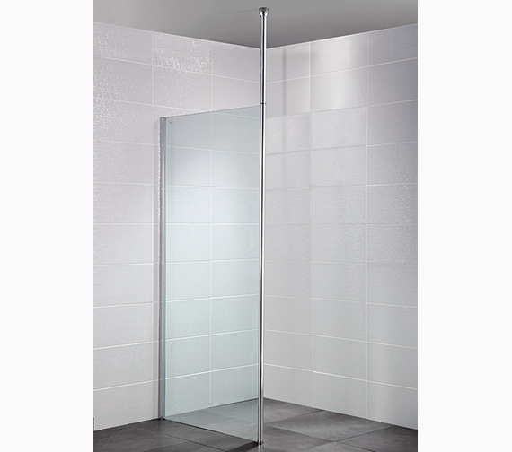 Alternate image of April Identiti2 1200mm x 1950mm Wetroom Glass Panel