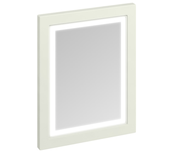 Burlington 600mm Sand Framed Mirror With LED Illumination
