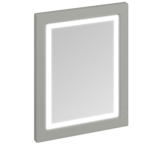 Burlington 600mm Dark Olive Framed Mirror With LED Illumination