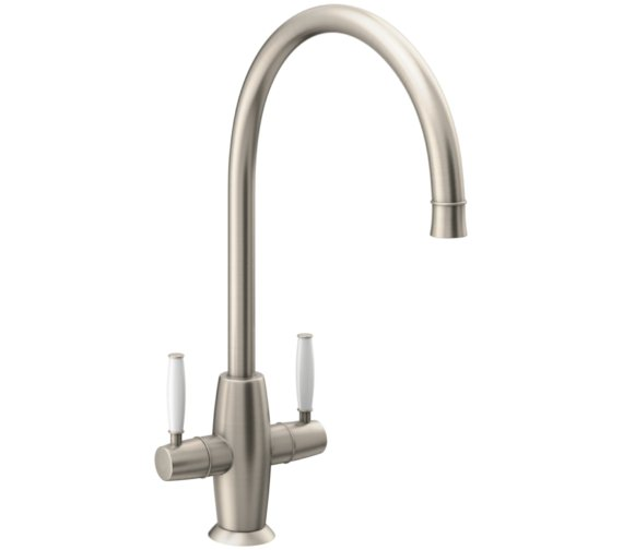 Abode Harrington Brushed Nickel Monobloc Kitchen Mixer Tap