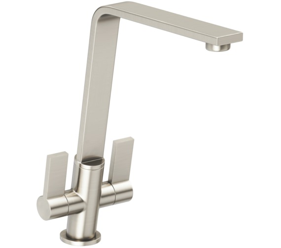 Abode Linear Flair Brushed Nickel Monobloc Kitchen Mixer Tap
