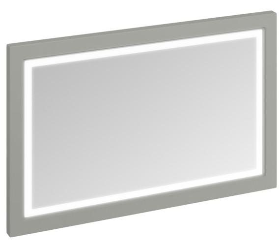 Burlington 1200mm Dark Olive Framed Mirror With LED Illumination