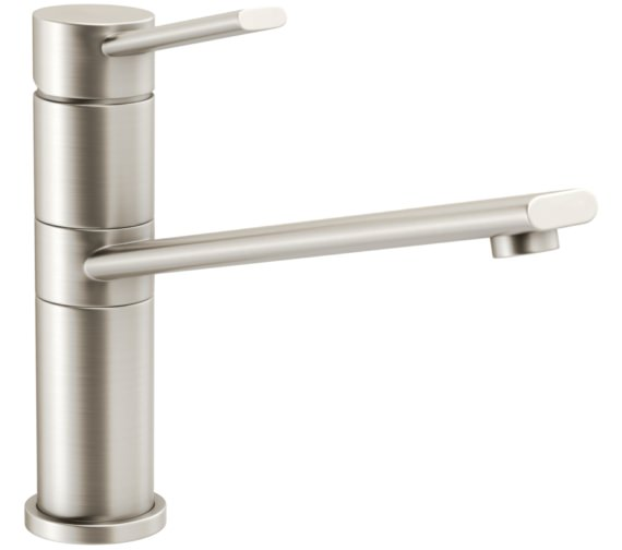 Abode Specto Brushed Nickel Single Lever Kitchen Mixer Tap
