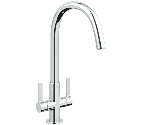 Abode Pico Chrome Monobloc Kitchen Mixer Tap