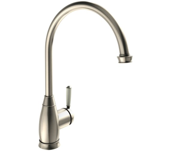 Abode Astbury Pewter Single Lever Kitchen Mixer Tap