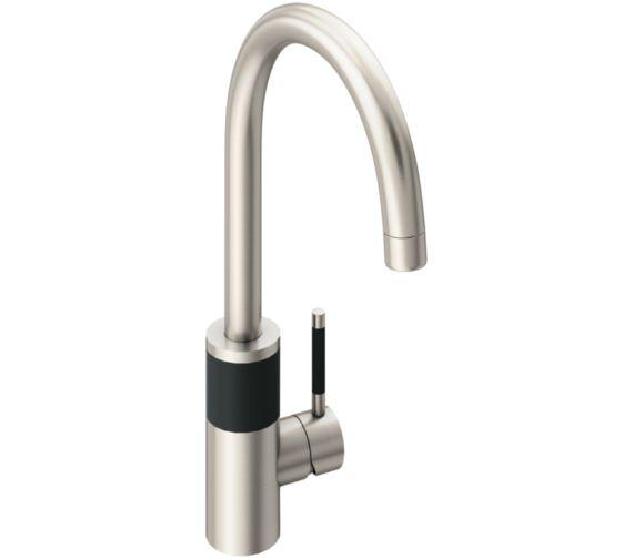 Abode Triana Brushed Nickel Aquifier Water Filter Kitchen Mixer Tap
