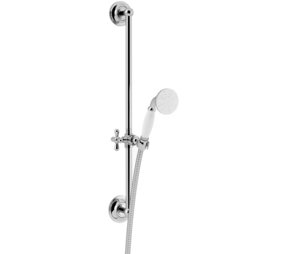 Heritage Premium Flexible Shower Slide Rail Kit