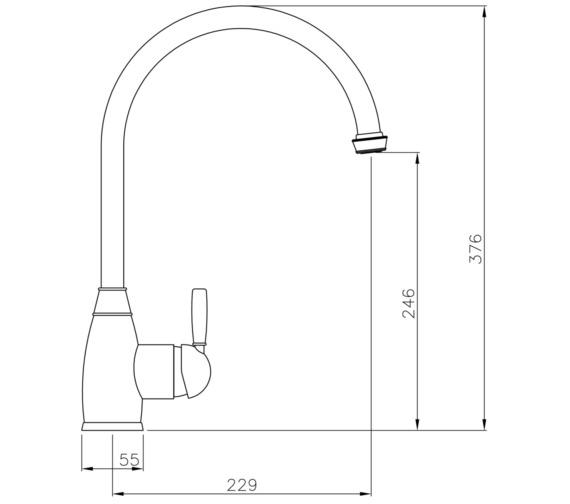 Technical drawing QS-V13538 / AT3018
