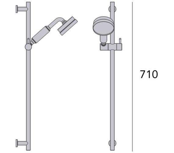 Technical drawing QS-V82425 / STC18