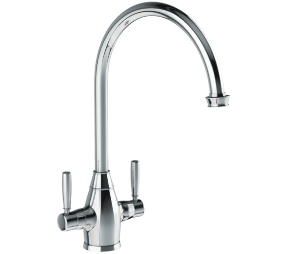 Abode Brompton Chrome Monobloc Kitchen Mixer Tap