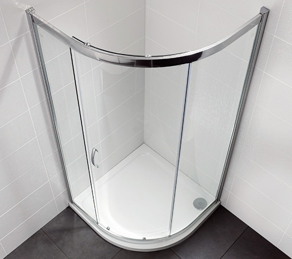 April Identiti2 1900mm High Single Door Shower Quadrant