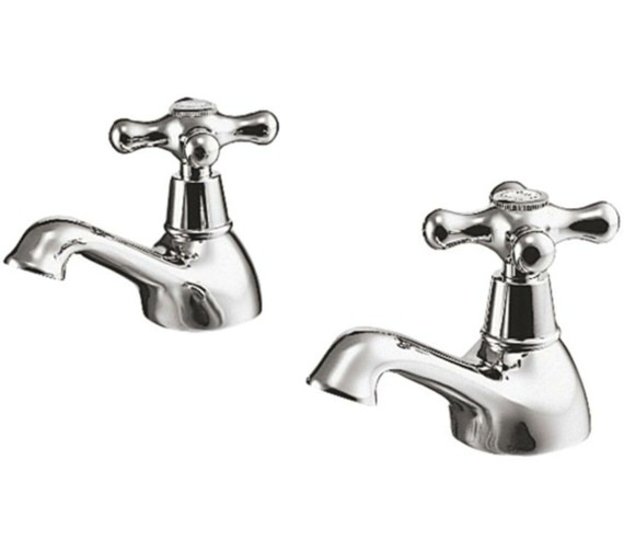 Ideal Standard Kingston Pair Of Basin Pillar Taps