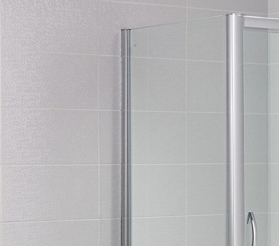 April Identiti2 700mm Width Side Panel For Shower Enclosure