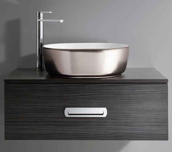 Alternate image of Bauhaus Gallery Pearl Platinum Countertop Basin