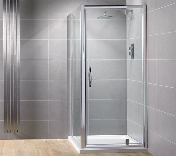 Aquadart Venturi 8 760mm Pivot Shower Door