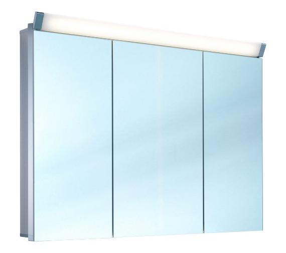 Schneider Paliline 3 Door 100cm  Mirror Cabinet With LED Light
