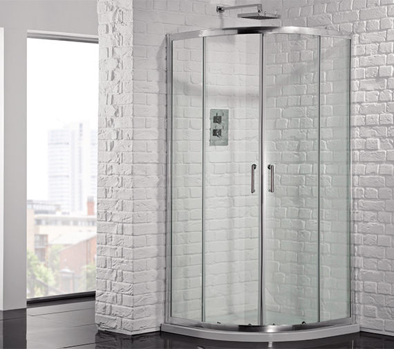 Aquadart Venturi 6 1900mm High Double Door Shower Quadrant