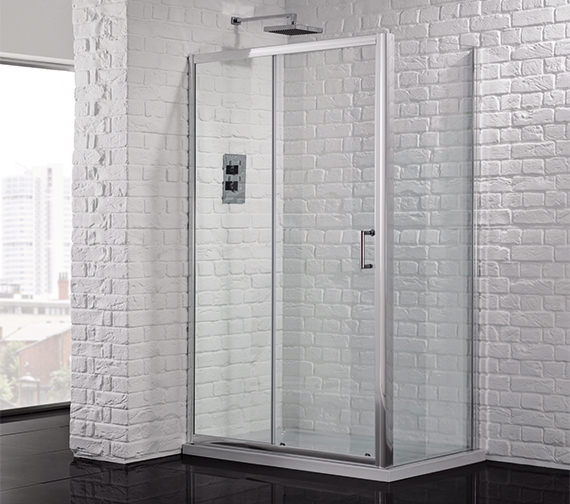 Aquadart Venturi 6 1000mm Sliding Shower Door