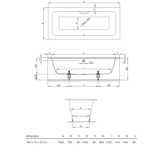 Technical drawing QS-V10859 / 3310 000