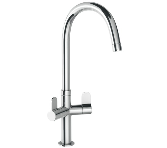Abode Verla Chrome Monobloc Kitchen Mixer Tap