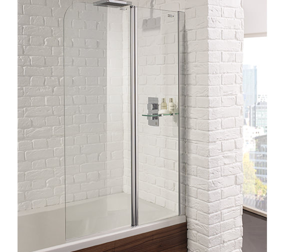 Aquadart Venturi 6 Fixed Bath Screen 900 x 1400mm