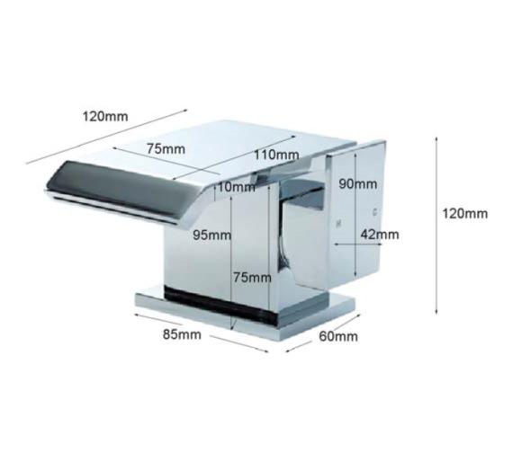 Technical drawing QS-V60589 / QS009