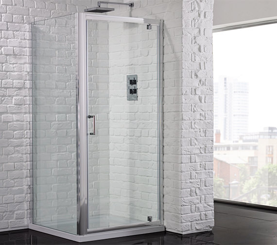 Aquadart Venturi 6 900mm Pivot Shower Door