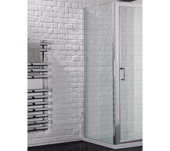 Aquadart Venturi 6 900mm x 1900mm Side Panel For Shower Enclosure