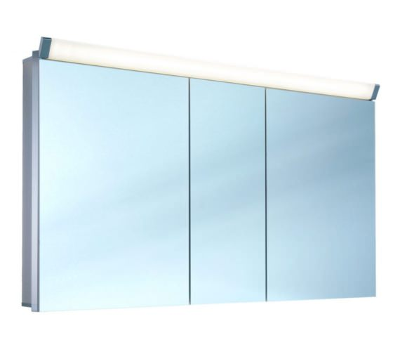 Additional image of Schneider Paliline 3 Door Mirror Cabinet With LED Light