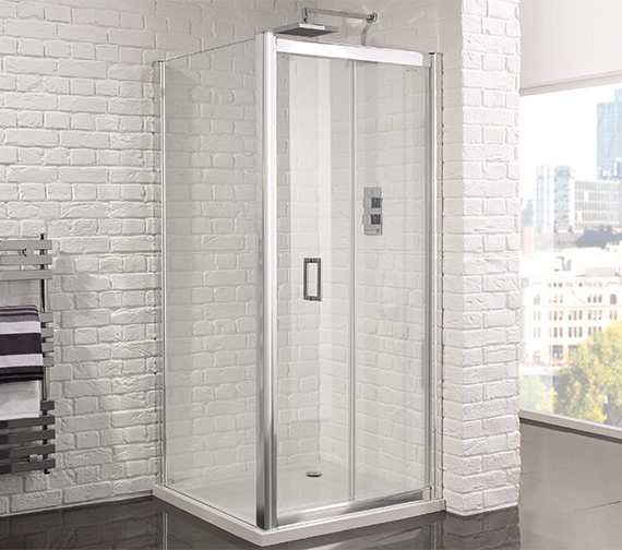 Aquadart Venturi 6 760mm Frameless Bifold Shower Door