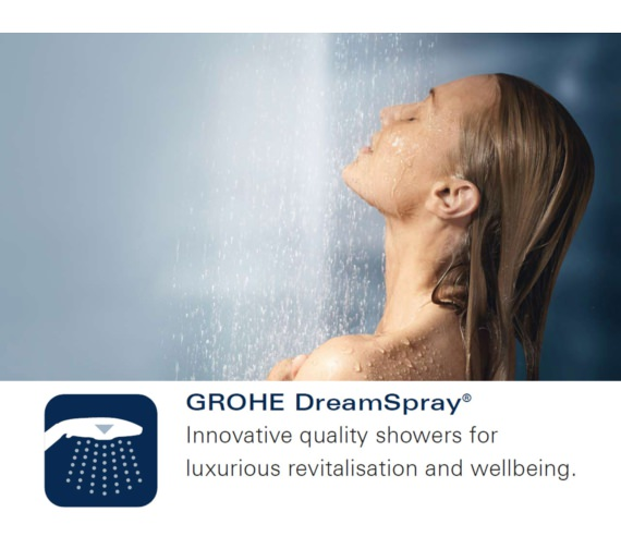 Additional image of Grohe Rainshower System SmartControl 360 MONO Shower System With Thermostat