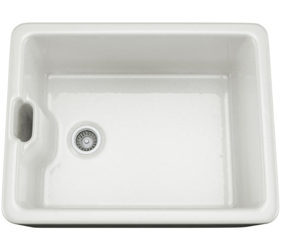 Abode White Glaze Ceramic Belfast Kitchen Sink