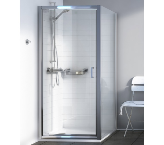 Alternate image of Aqualux Source 900mm Pivot Shower Door