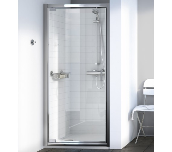 Aqualux Source 760mm Pivot Shower Door