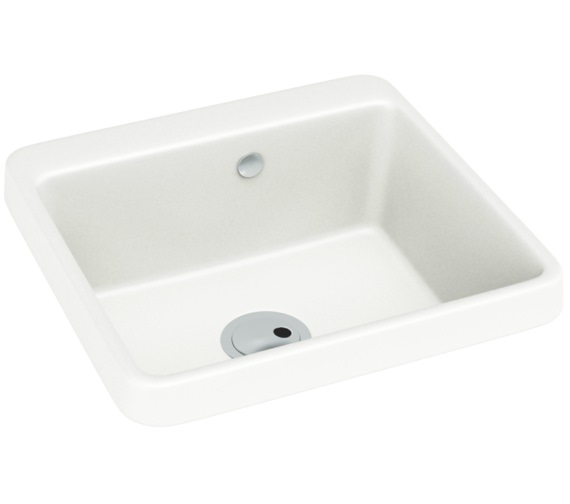 Abode Matrix GR10 1.0 Bowl White Granite Kitchen Sink