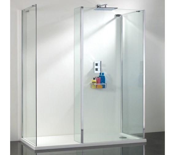 Phoenix Vision Single Wall Shower Enclosure 1400mm Pack 6 - SEV006