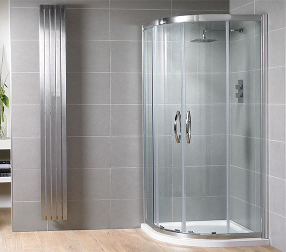 Aquadart Venturi 8 Double Door 1900mm High Offset Shower Quadrant