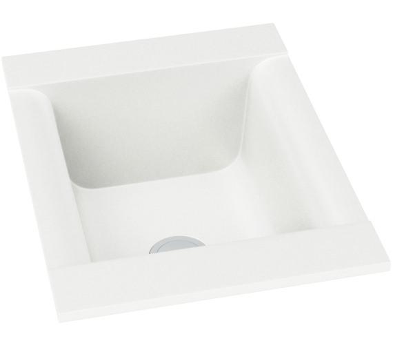 Abode Aspekt 1.0 Bowl White Granite Inset Kitchen Sink