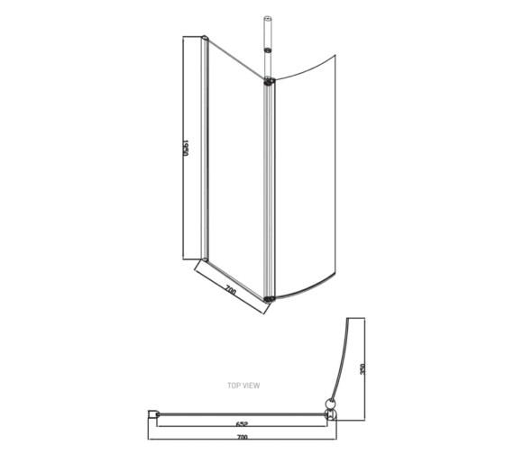 Technical drawing QS-V21363 / SE068
