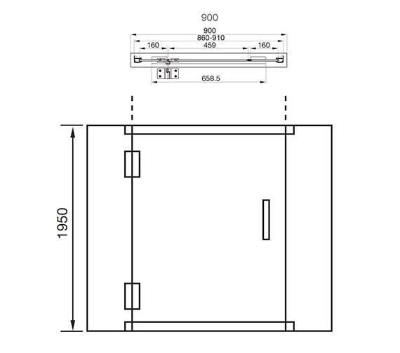 Technical drawing QS-V41203 / AQ1011