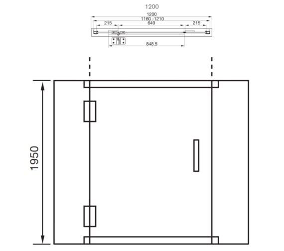 Technical drawing QS-V41205 / AQ1013