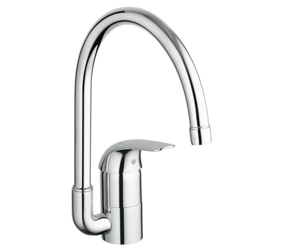 Grohe Euroeco Single Lever Half Inch Kitchen Sink Mixer Tap