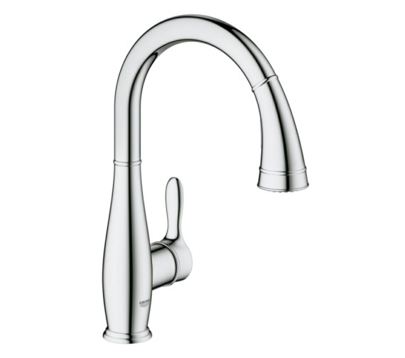 Grohe Parkfield Half inch Kitchen Sink mixer Tap Chrome